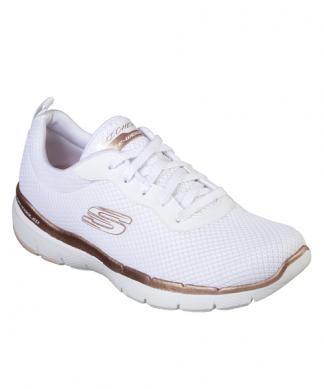 3039ef2e963a Skechers Flex Appeal 3.0 First Insight - White Rose Gold ...