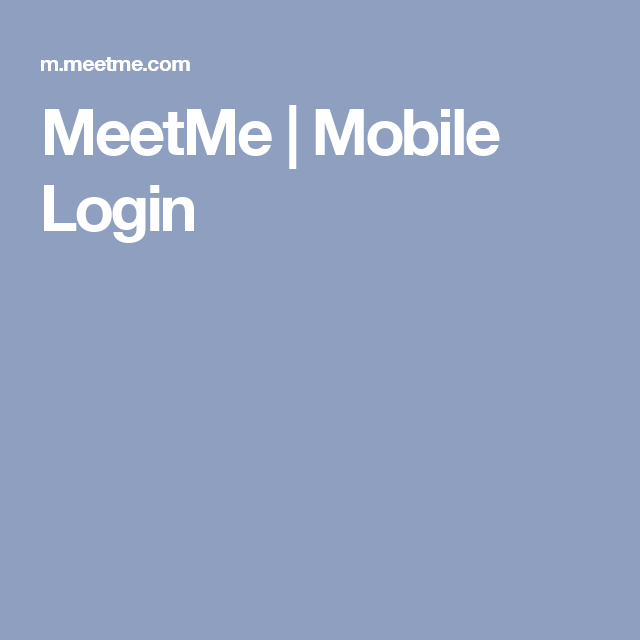 Mobile in meetme sign citydays.ro Sign