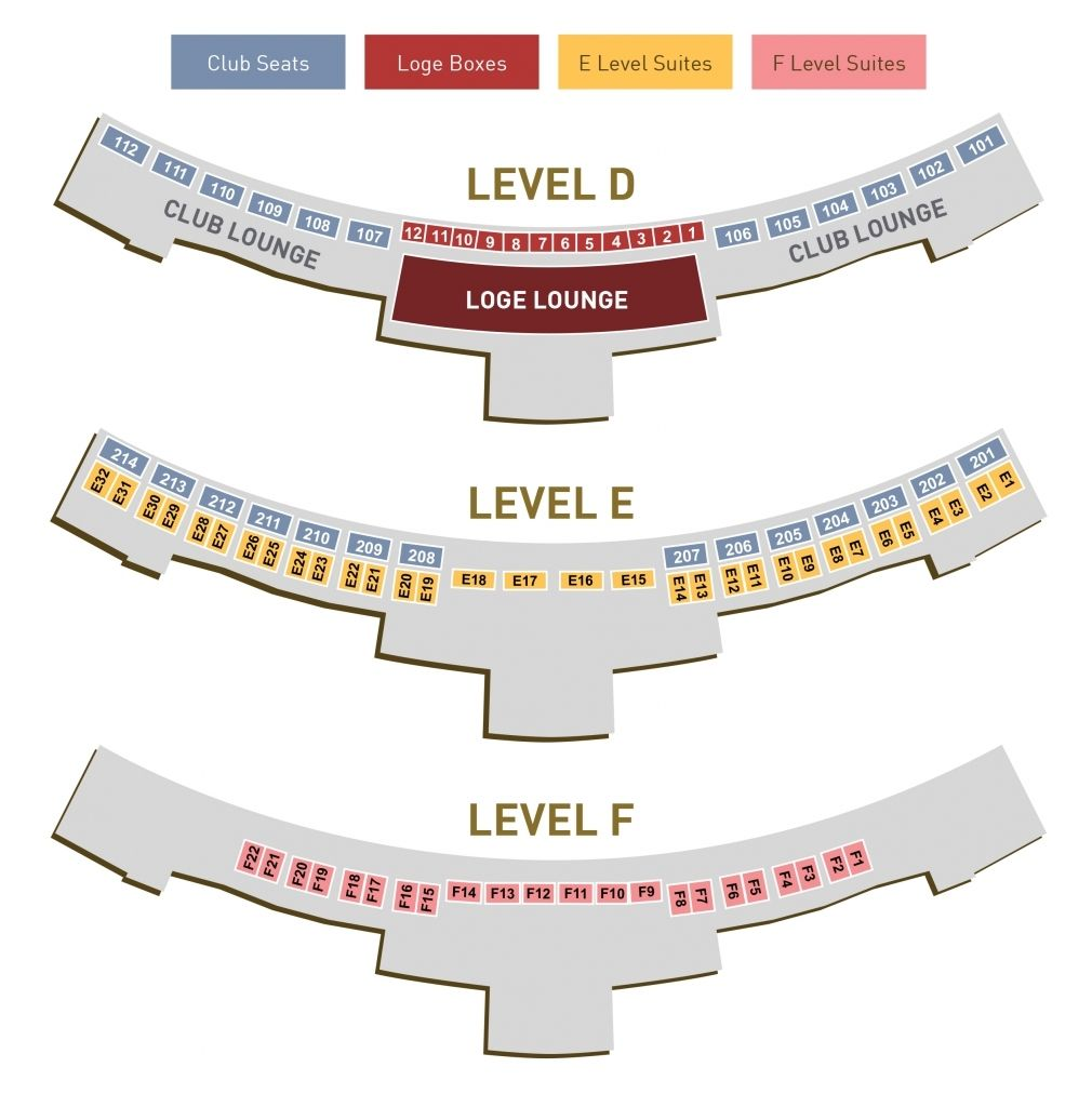 The Rose Seating Chart