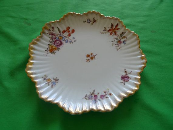 Vintage Swedish old brown RORSTRAND porcelain by ForCollecting