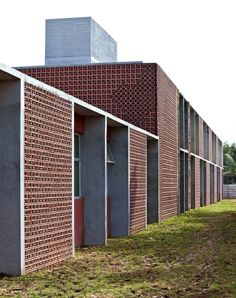 Dps kindergarten khosla associates bangalore also material  facade rh za pinterest