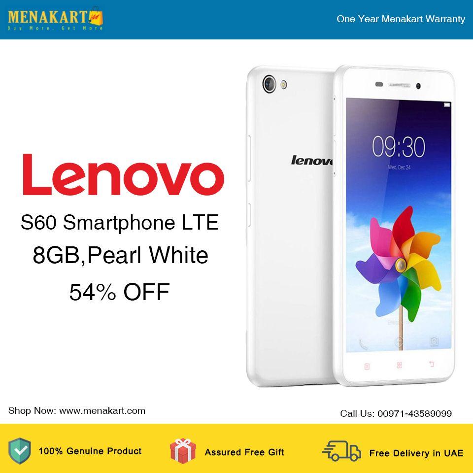 Lenovo s60 smartphone lte 8gbpearl white lenovo