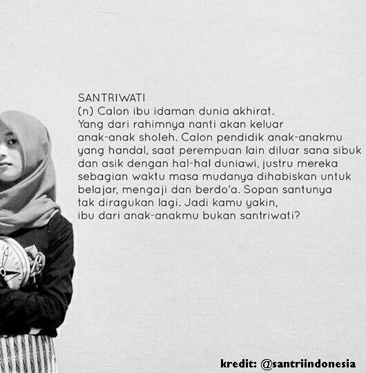 Quotes Santriwati Nusagates