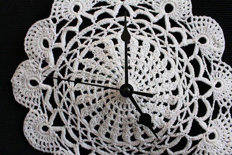 KOUKUISSA: Virkattu kello
