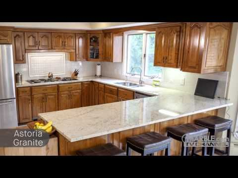 Best Astoria Granite Kitchen Countertops With Beige White 400 x 300