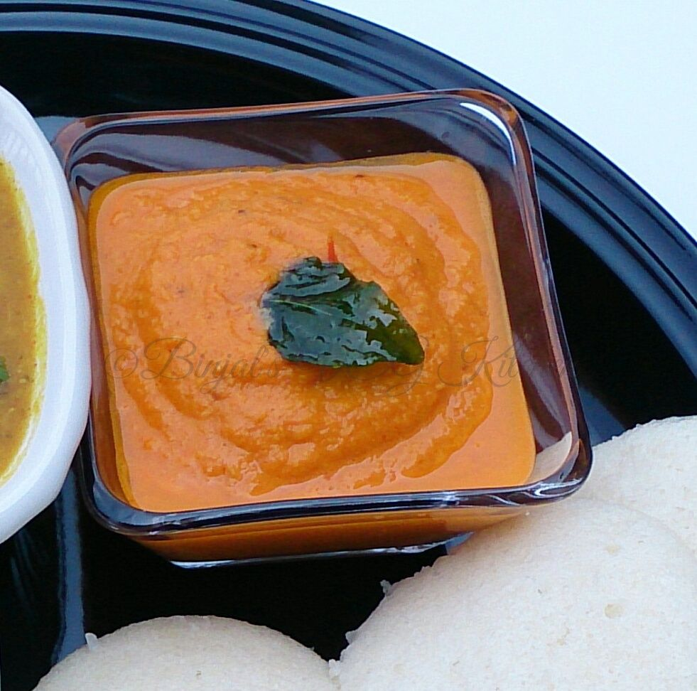 Tomato Chutney goes well with Idli, Dosa or any South Indian snacks. It is one of the most delicious, simple and quick Chutney.