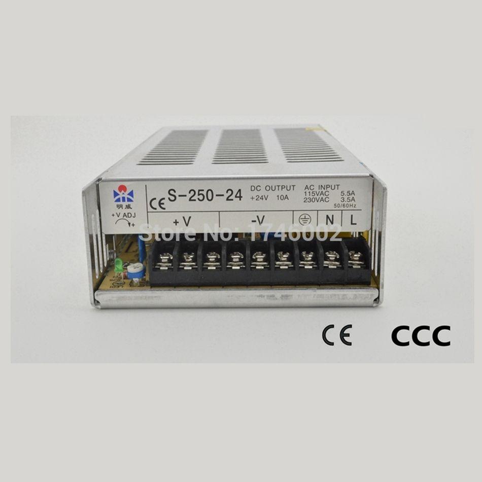 ac to dc suppIies S-250-12 250W 12V 20A Transformer 110V
