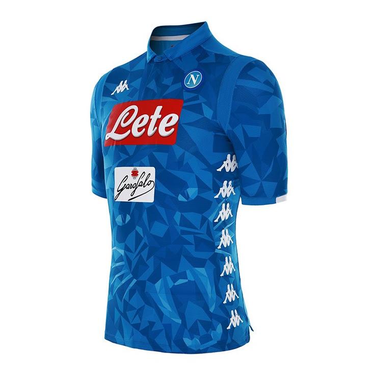 Napoli 15//16 Players Home Replica Football Shorts