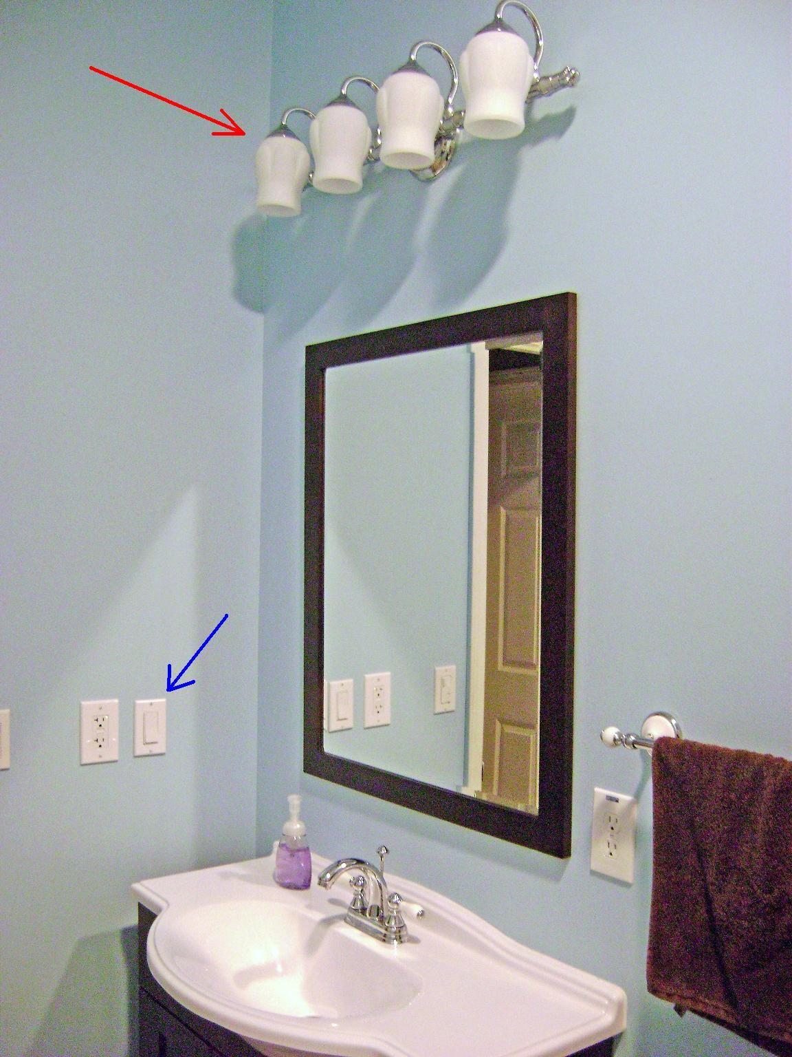 Awe Inspiring How To Finish A Basement Bathroom Vanity Light Wiring Bathroom Wiring 101 Ivorowellnesstrialsorg