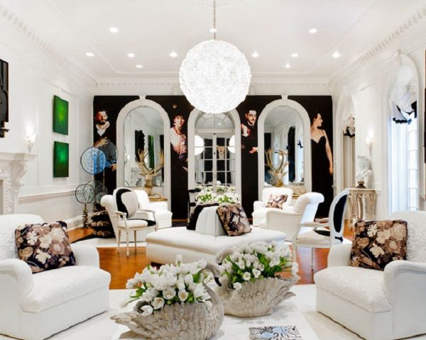 Beautiful White Flower Artificial Living Room Decoration Brighten Up Your Living Room With Flower Artificial Plants