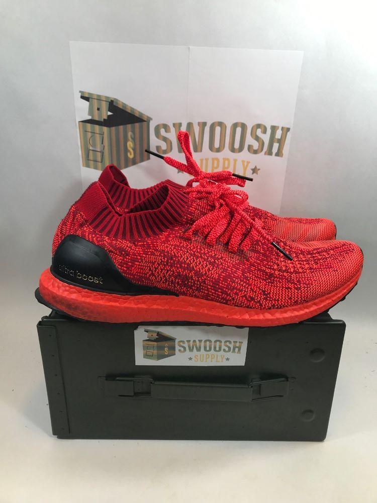 eea6d68a6 Adidas Ultra Boost Uncaged LTD Triple Red Size 13 BB4678 NMD PK Yeezy   Adidas  AthleticSneakers