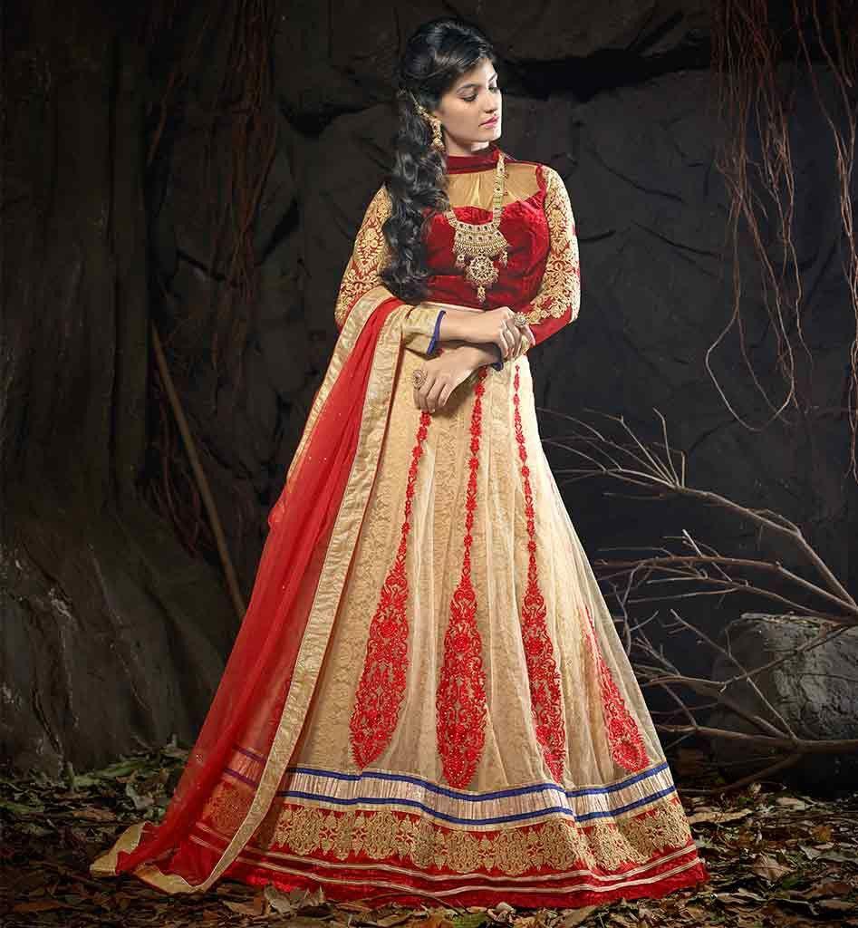 TRADITIONAL INDIAN WEDDING LEHENGA CHOLI DUPATTA ONLINE ...