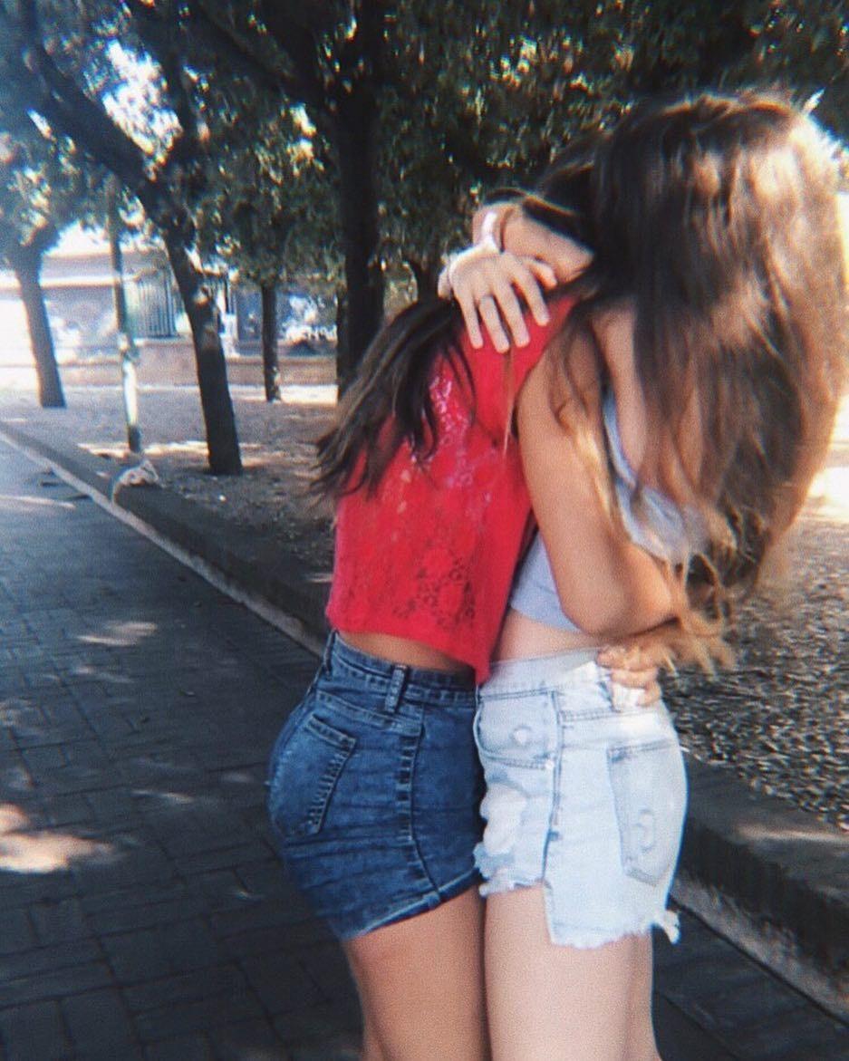 Freunde Teen Lesbian Beste 3 Ways