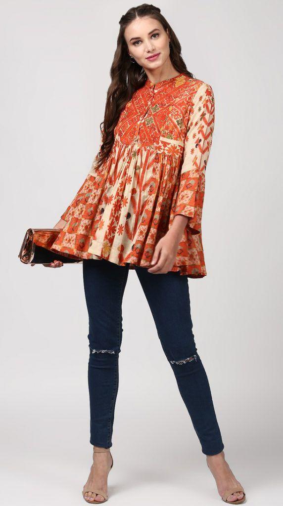 c704fe0c98 Indian stylish tunics kurtis ritu kumar collection also kurti rh pinterest
