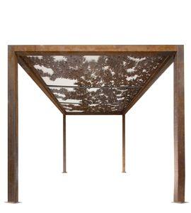 Metal Garden Art Studio, Metal Fabrication | Melbourne – Entanglements Bahçe
