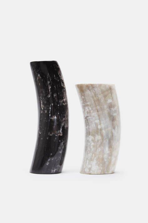 African Horn Large Vase Black Pinterest Horn Africans And
