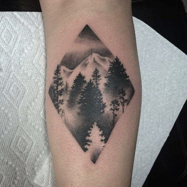 60 Forearm Tree Tattoo Designs For Men Forest Ink Ideas Tattoos