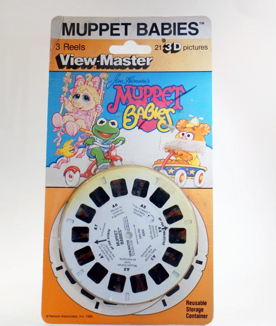 Vintage Toys View Master ReelsMuppet Babies by DoorCountyVintage, $7.50
