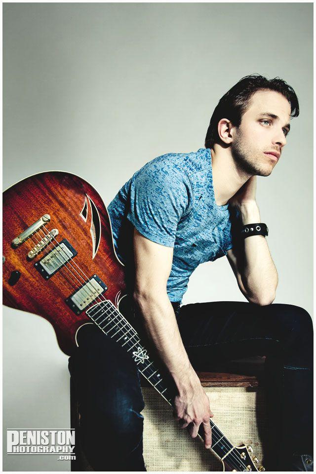 Jake Hertzog - Jazz Guitarist  Music Promo  Musician portrait, Deneka Peniston