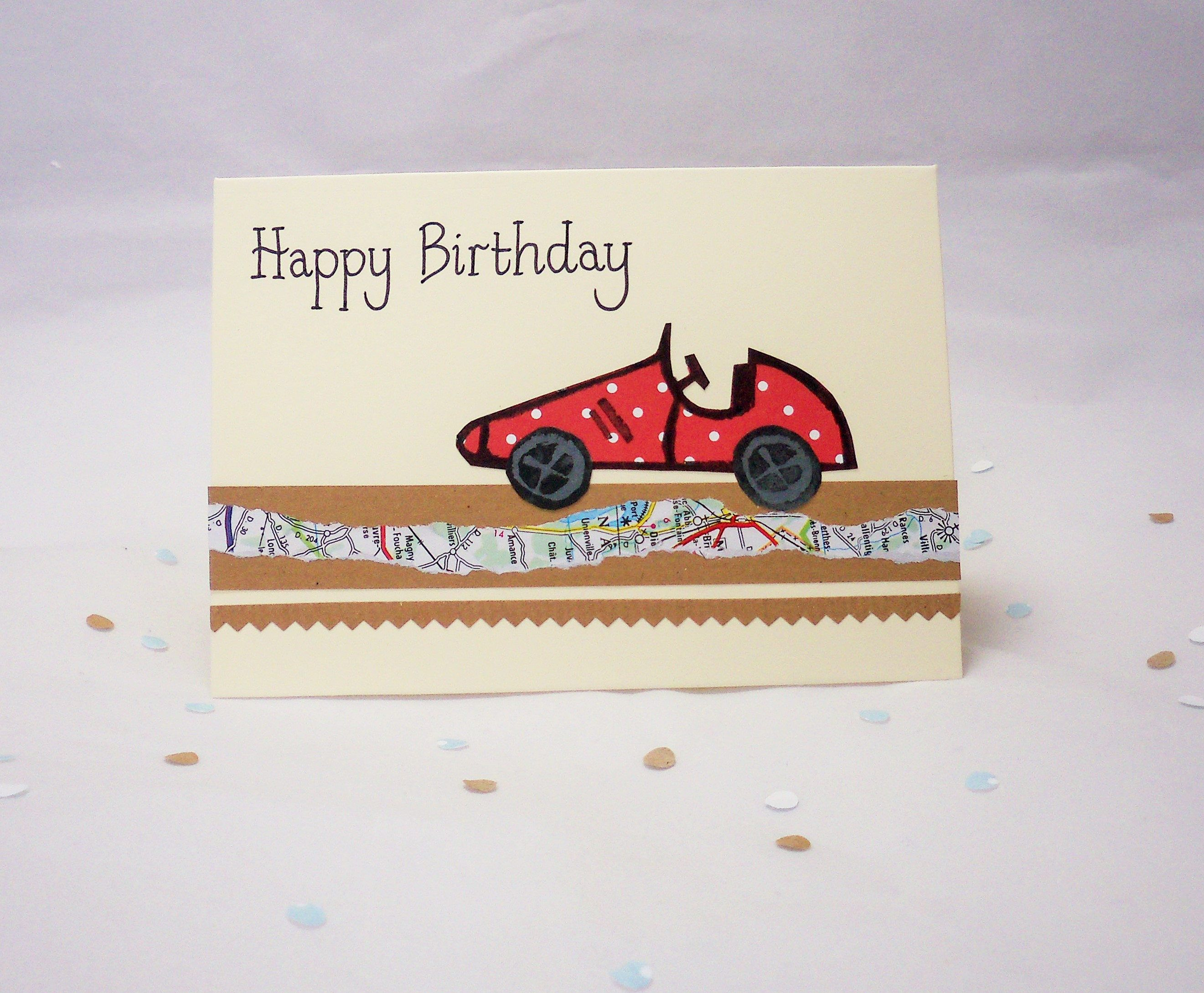 Greeting Card Theme Cars