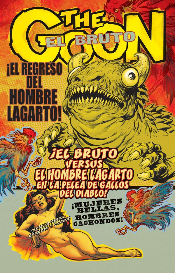 The Goon n°44. Cover by Eric Powell