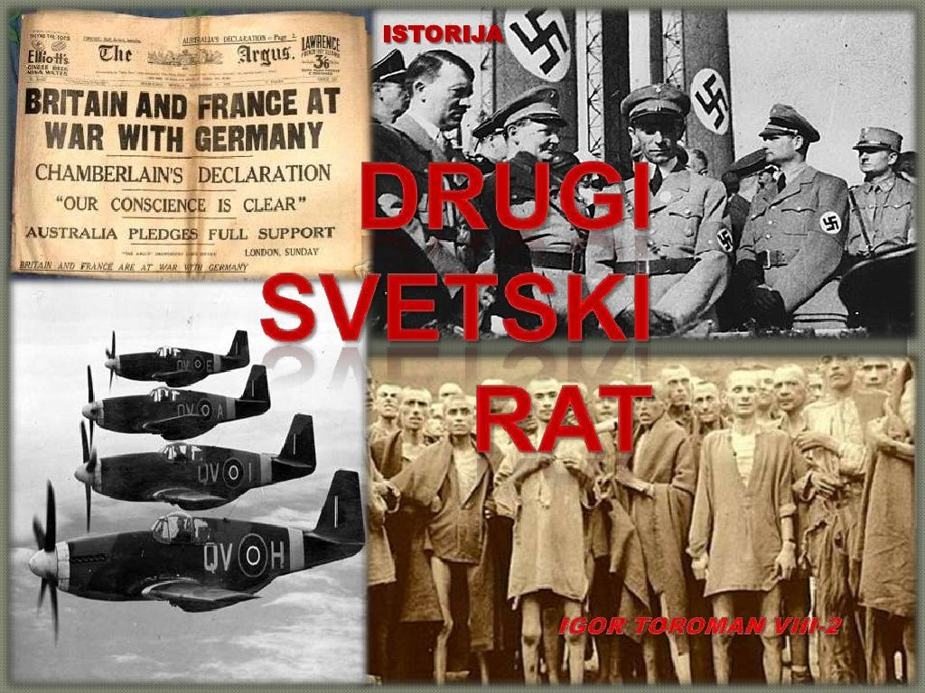 Други светски рат by Ucionica istorije via slideshare
