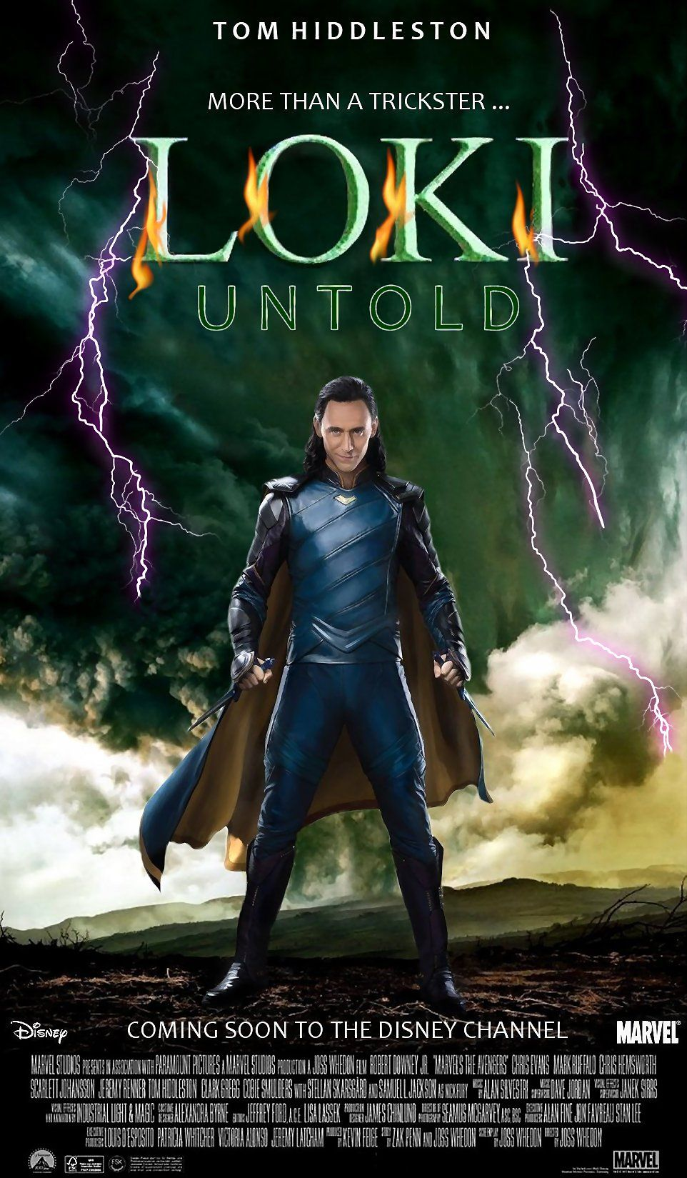 Loki TV series Spoof Poster by me - September 2018 #Loki ...