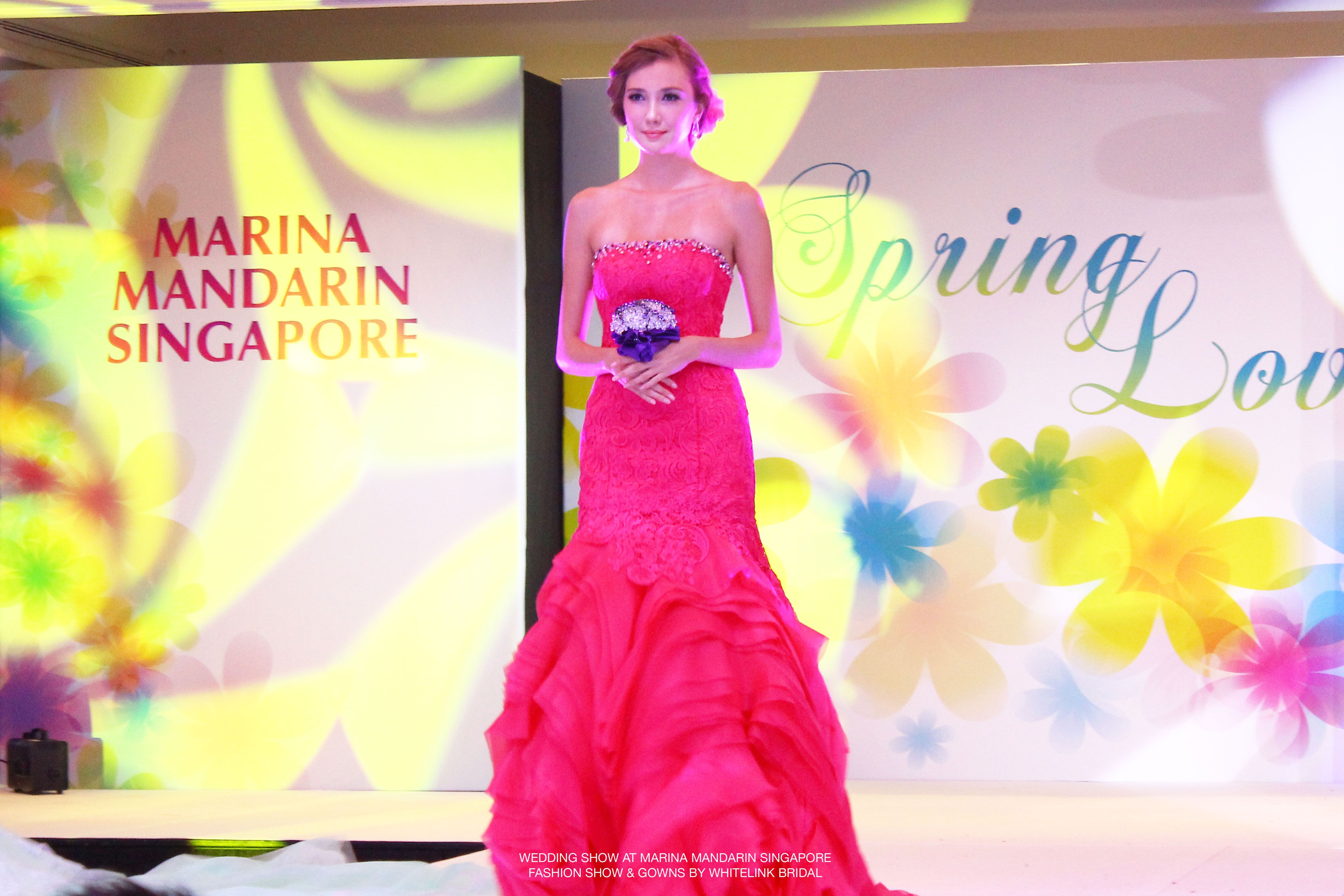 If you had missed out the Wedding Show held at Marina Mandarin ...