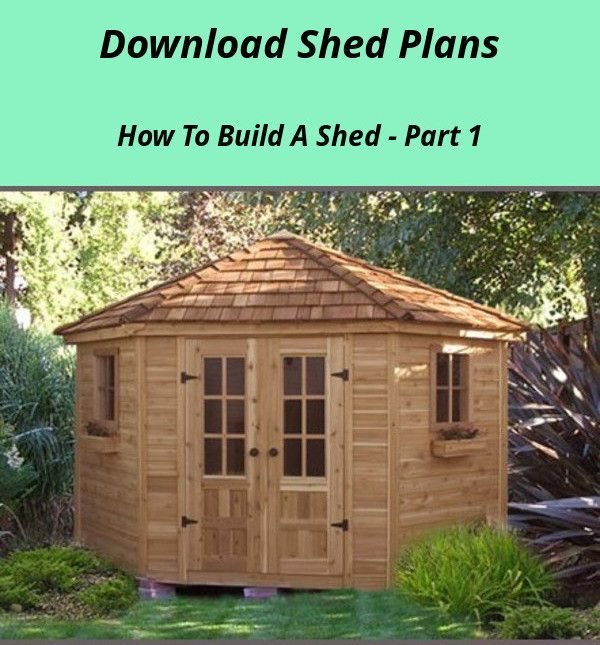 Diy Flat Roof Shed Plans We Show You All The Steps To Build A Garden House In Build In 2020