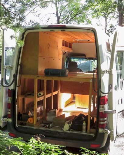 Comfy rvs camper van conversion ideas on a budget (45) | Van Build