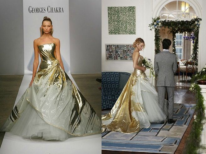 How you can dress up like serena van der woodsen aka blake for Serena wedding dress gossip girl price