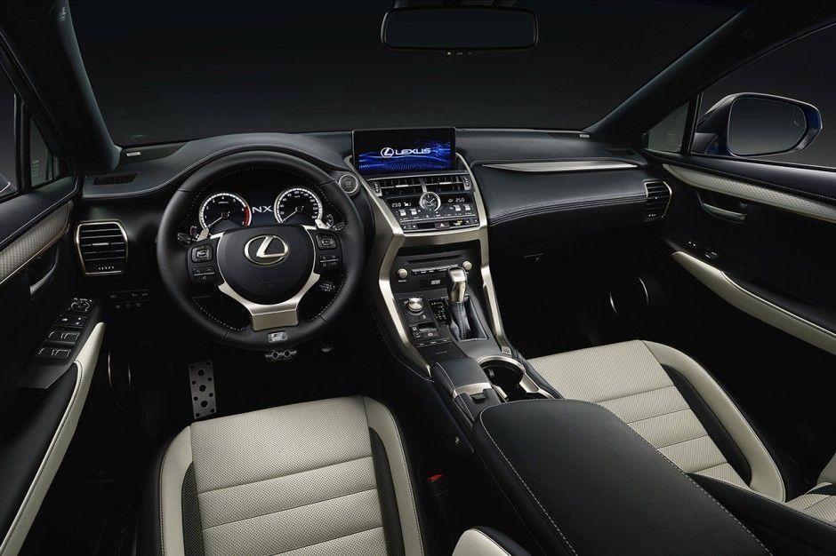 Lexus le NX restylé pour le salon de Shanghai Suv