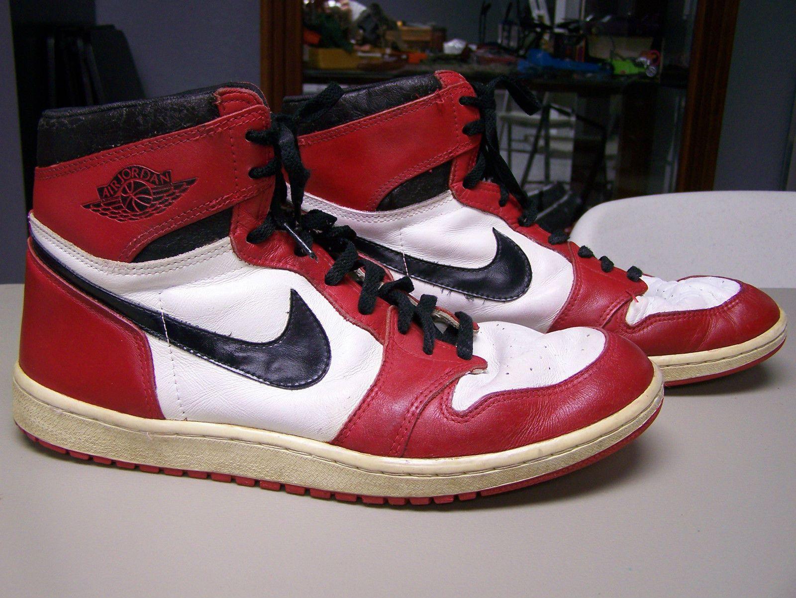 ORIGINAL NIKE AIR JORDAN shoes Vintage SIZE 14 Michael Jordan ...