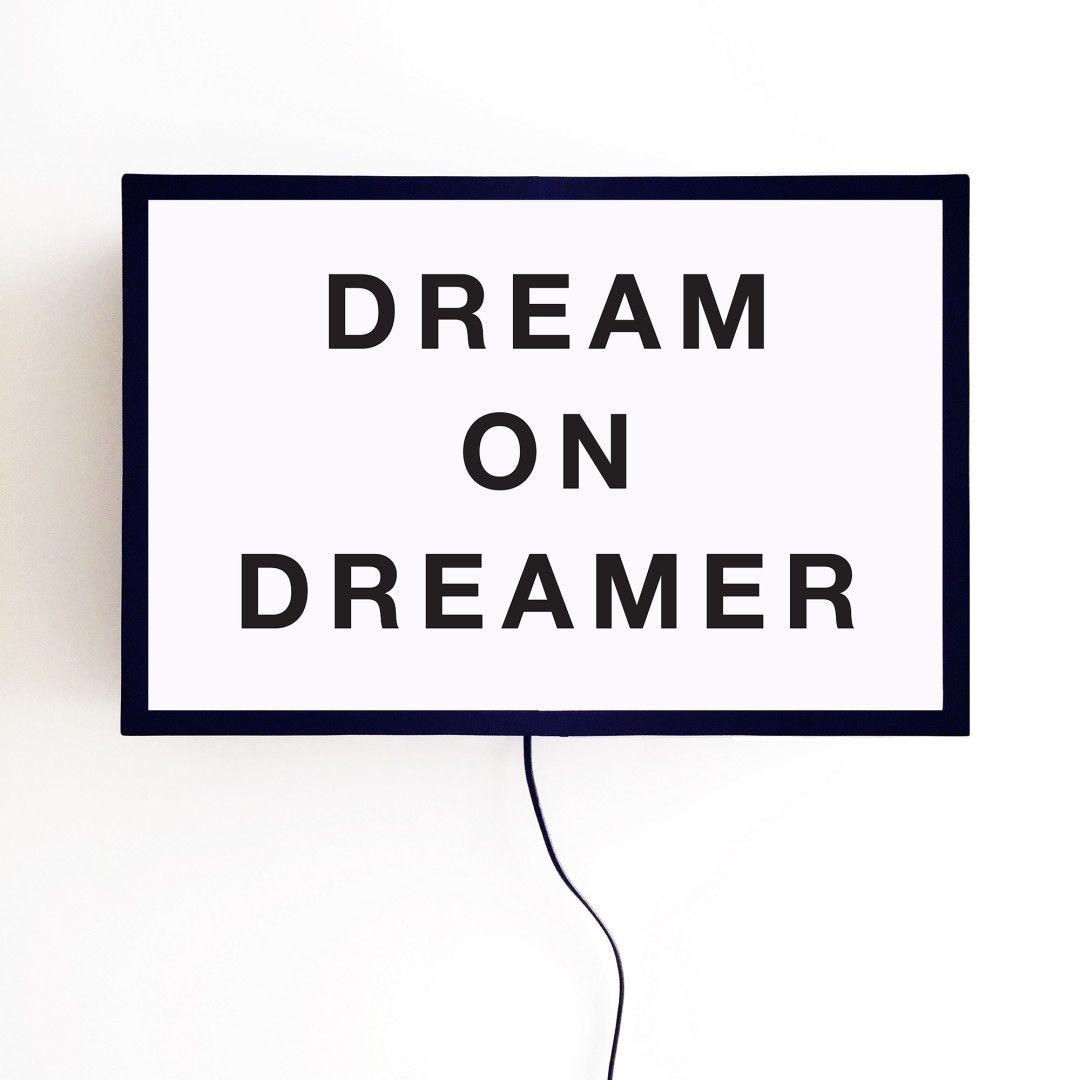Lightbox Dream On Dreamer | Storehouse Home Decor