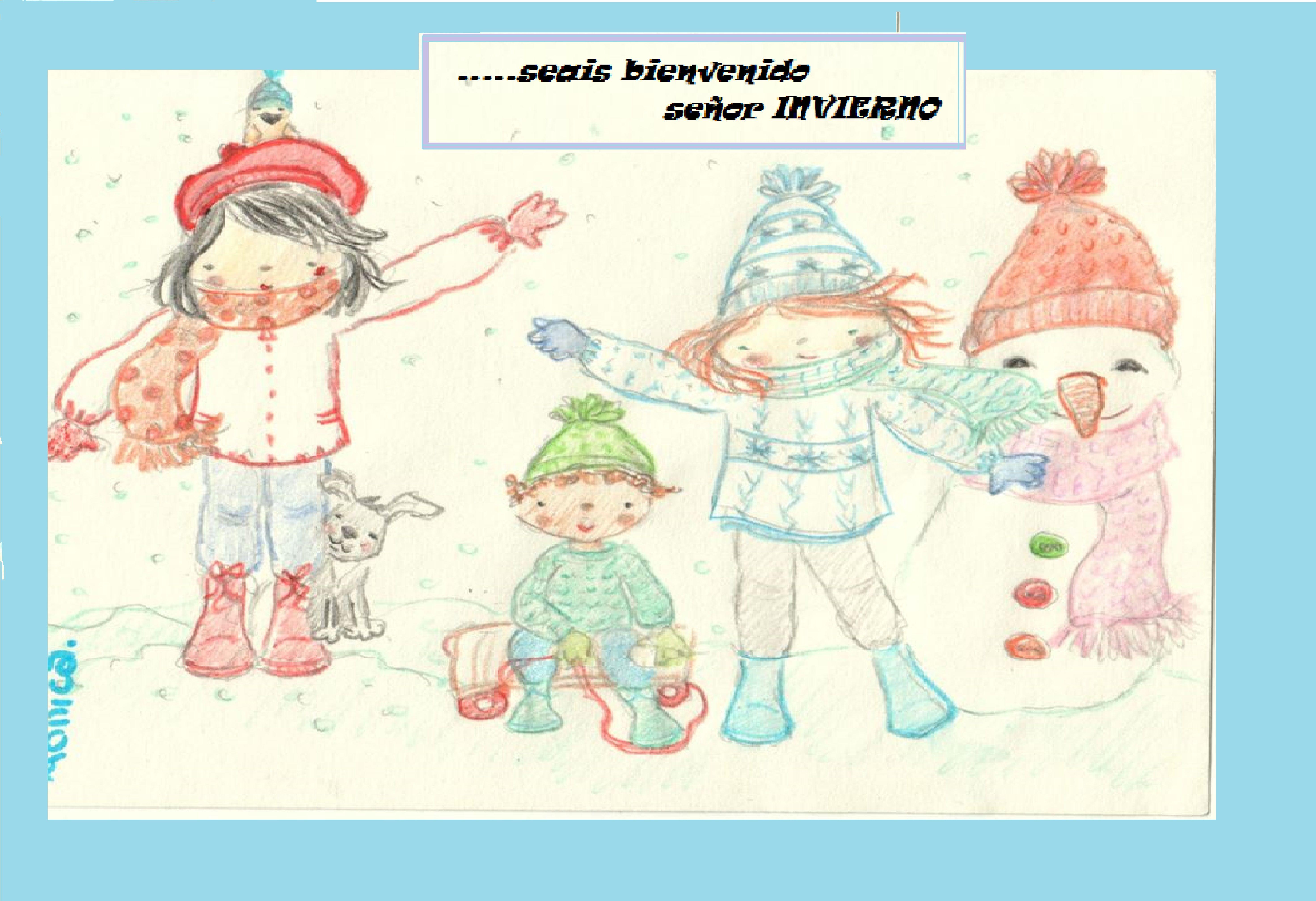 listos preparados para recibir el invierno con optimismo!!!