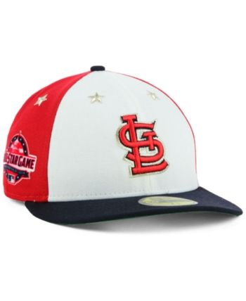 sports shoes 9f69a d2784 New Era St. Louis Cardinals All Star Game Patch Low Profile 59FIFTY Fitted  Cap 2018 - Navy Scarlet White 7