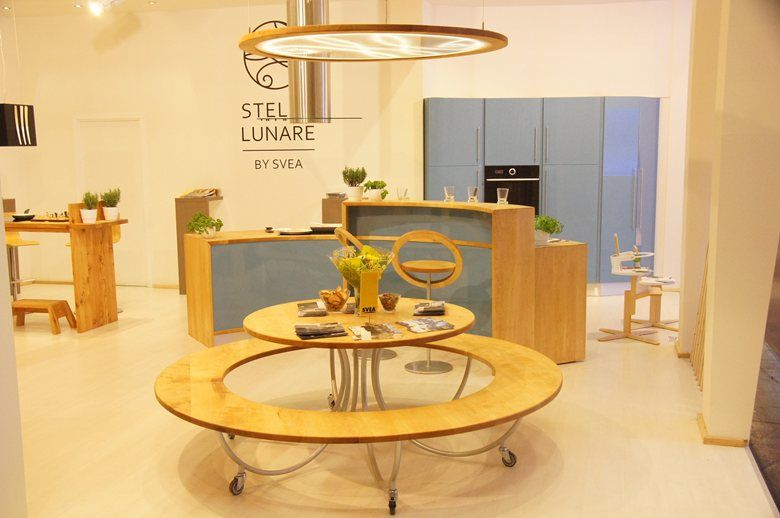 Stella Lunare for Svea Living kitchen IMM Cologne 2013, 2013 - Anton ...