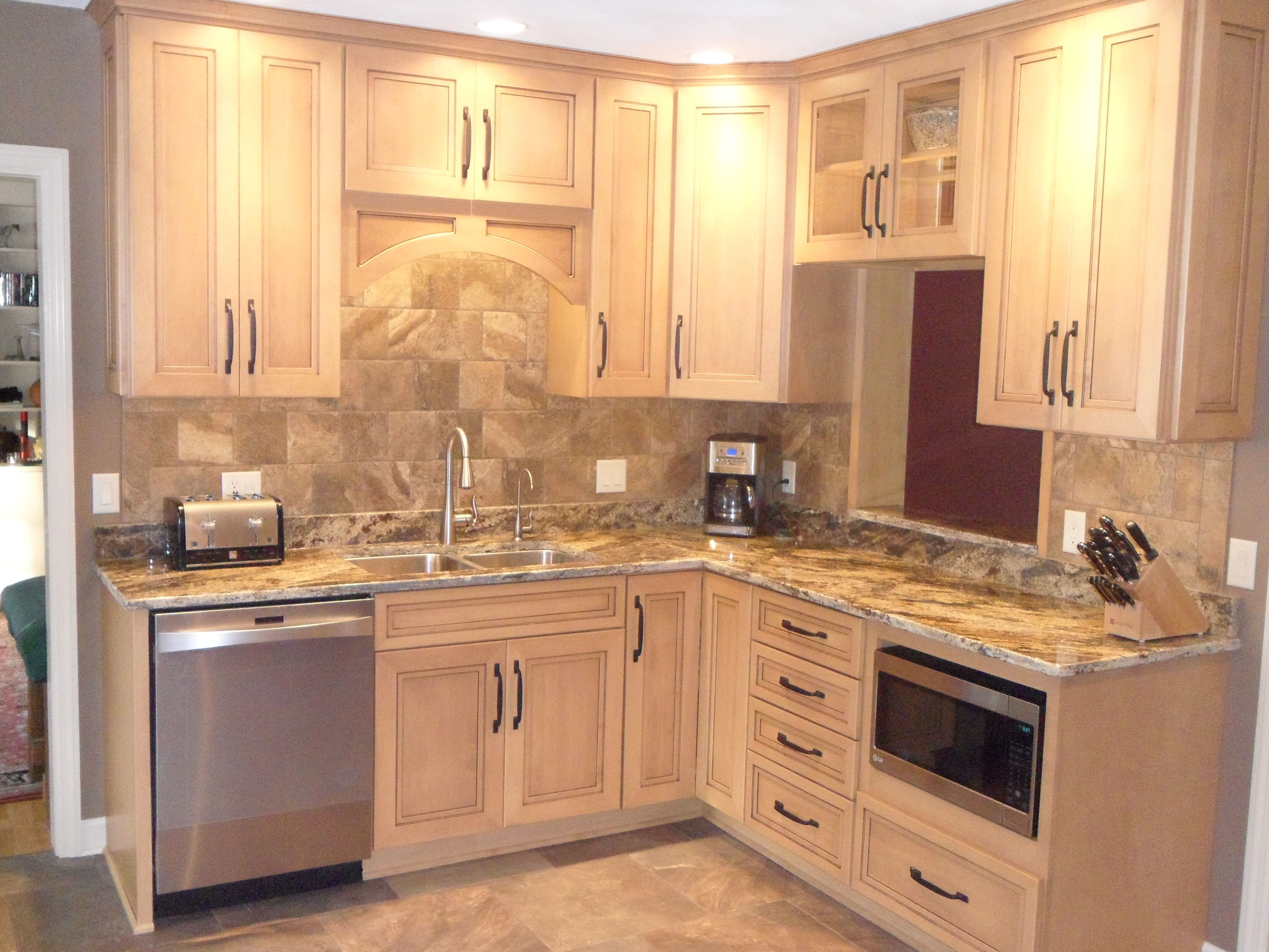 This Kitchen Was Designed In Embassy Omega Custom Cabinetry
