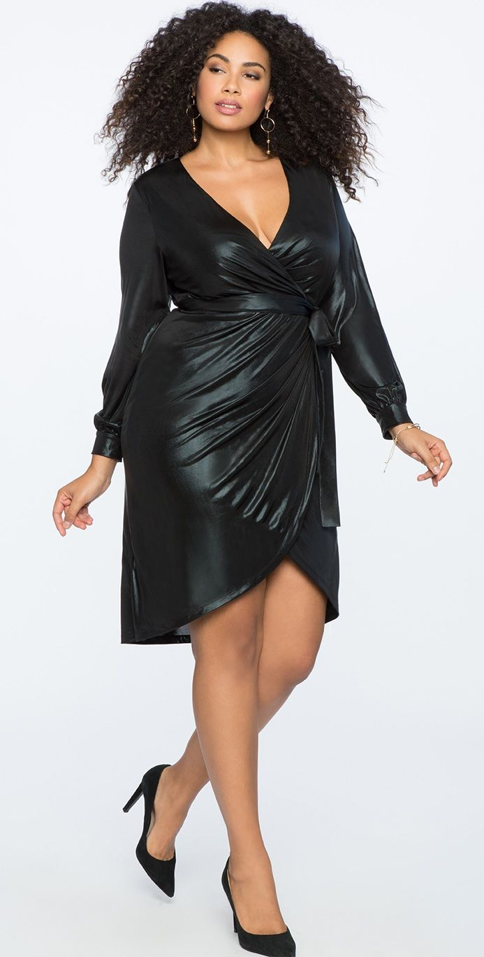 Plus Size Cocktail Dress #plussize #party #dress #holiday ...