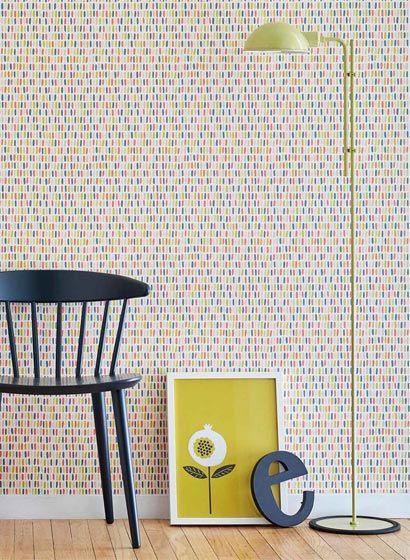 Tapete Tikku von Scion-3073 Scion, Pattern wallpaper and Bedrooms - retro tapete wohnzimmer