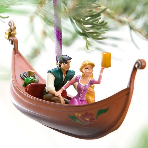 Flynn and Rapunzel Ornament Tangled