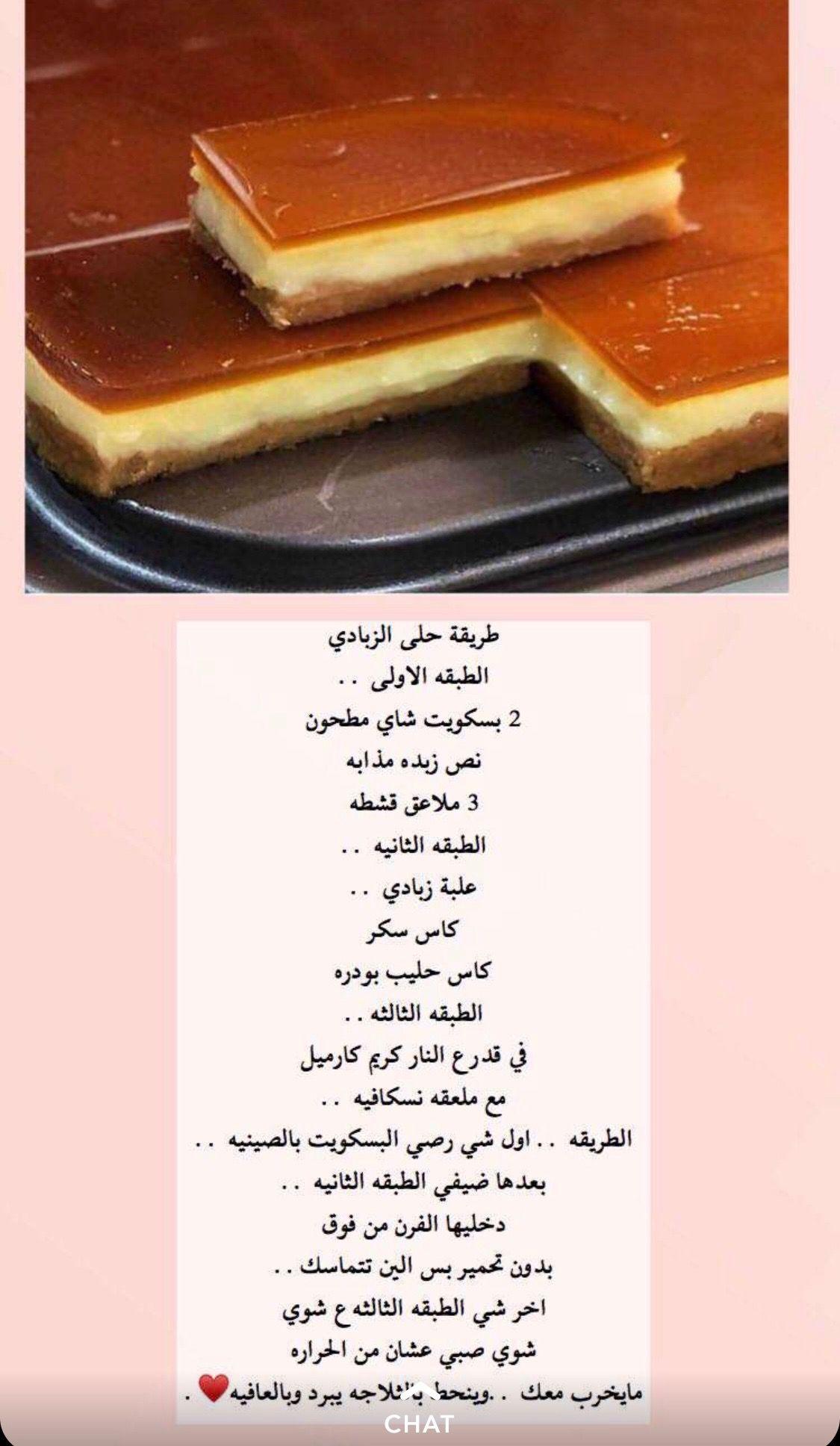 Pin By Samar Anan On طبخات Diy Food Recipes Helthy Food Yummy Food Dessert