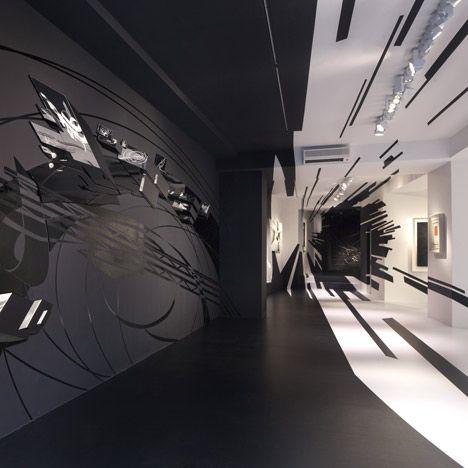 Zaha Hadid and Suprematism exhibit