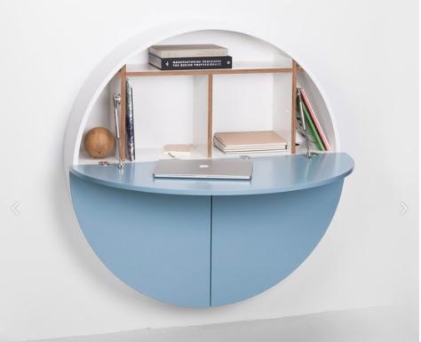 Un bureau mural pour travailler à la maison meubles