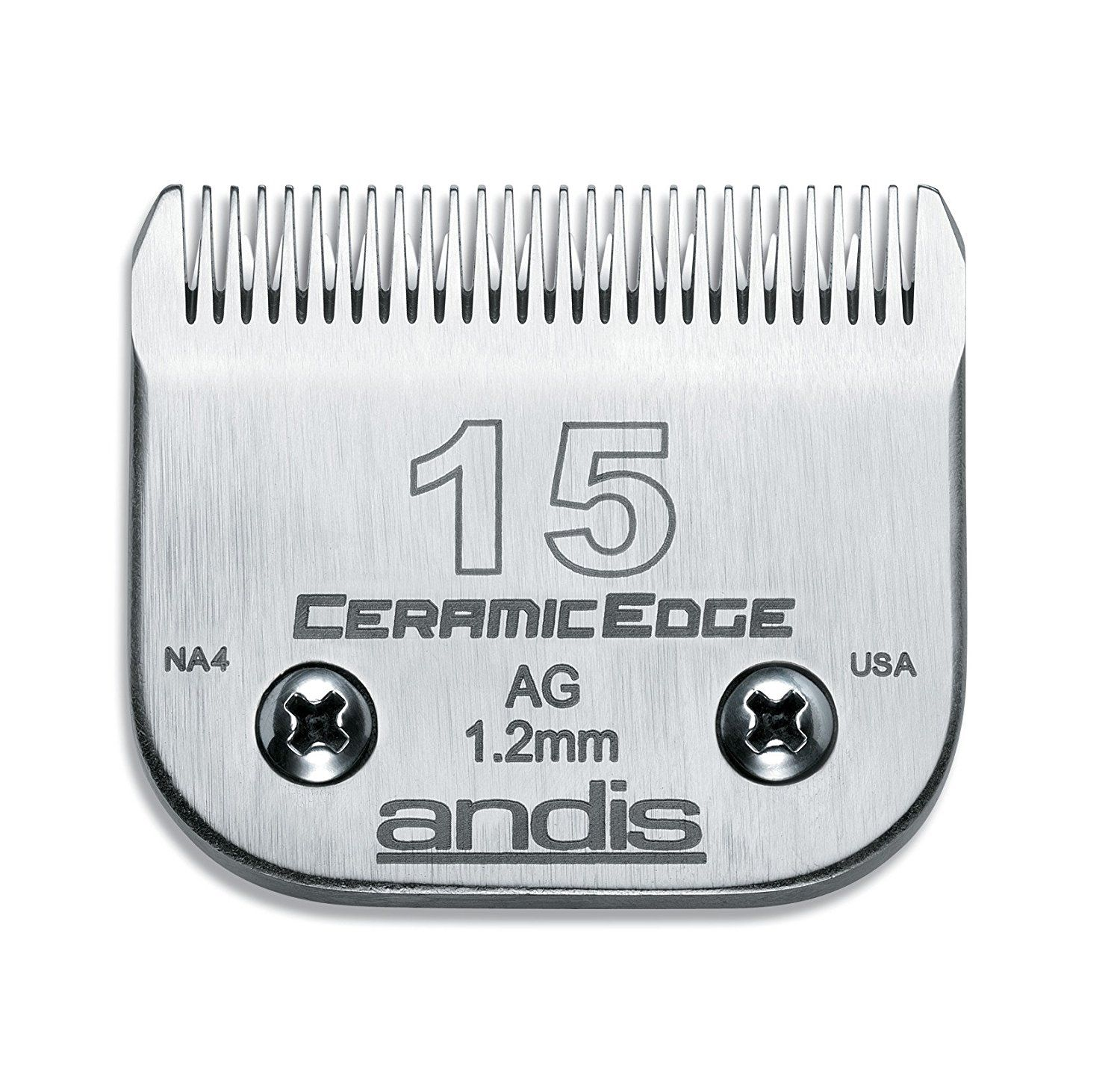 Andis Ceramicedge Carbon Infused Steel Pet Clipper Blade Click