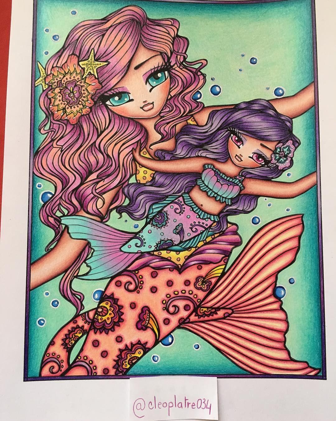 Gefallt 27 Mal 1 Kommentare Vittet Julia Cleoplatre034 Auf Instagram Completed Today Hazel Mi Mermaid Coloring Book Hannah Lynn Mermaid Accessories [ 1350 x 1080 Pixel ]