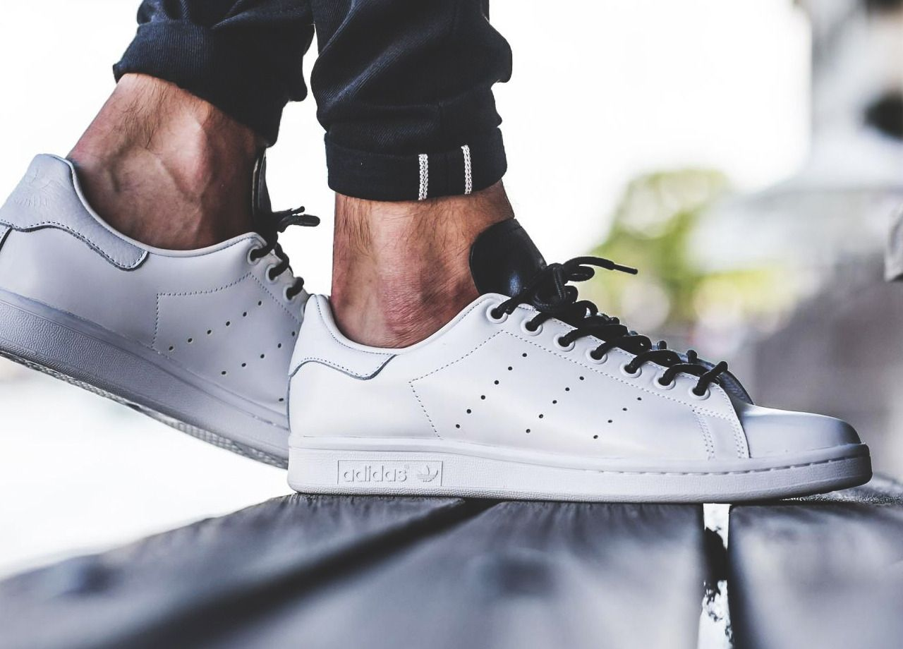 """hot sale online b5f14 6ca5c """" Adidas Stan Smith - White Black (by titolo) A quality pair of shoe trees  by Sole Trees are a perfect fit for your sneakers  ShoeTree  SoleTrees   ShoeTrees. """""""
