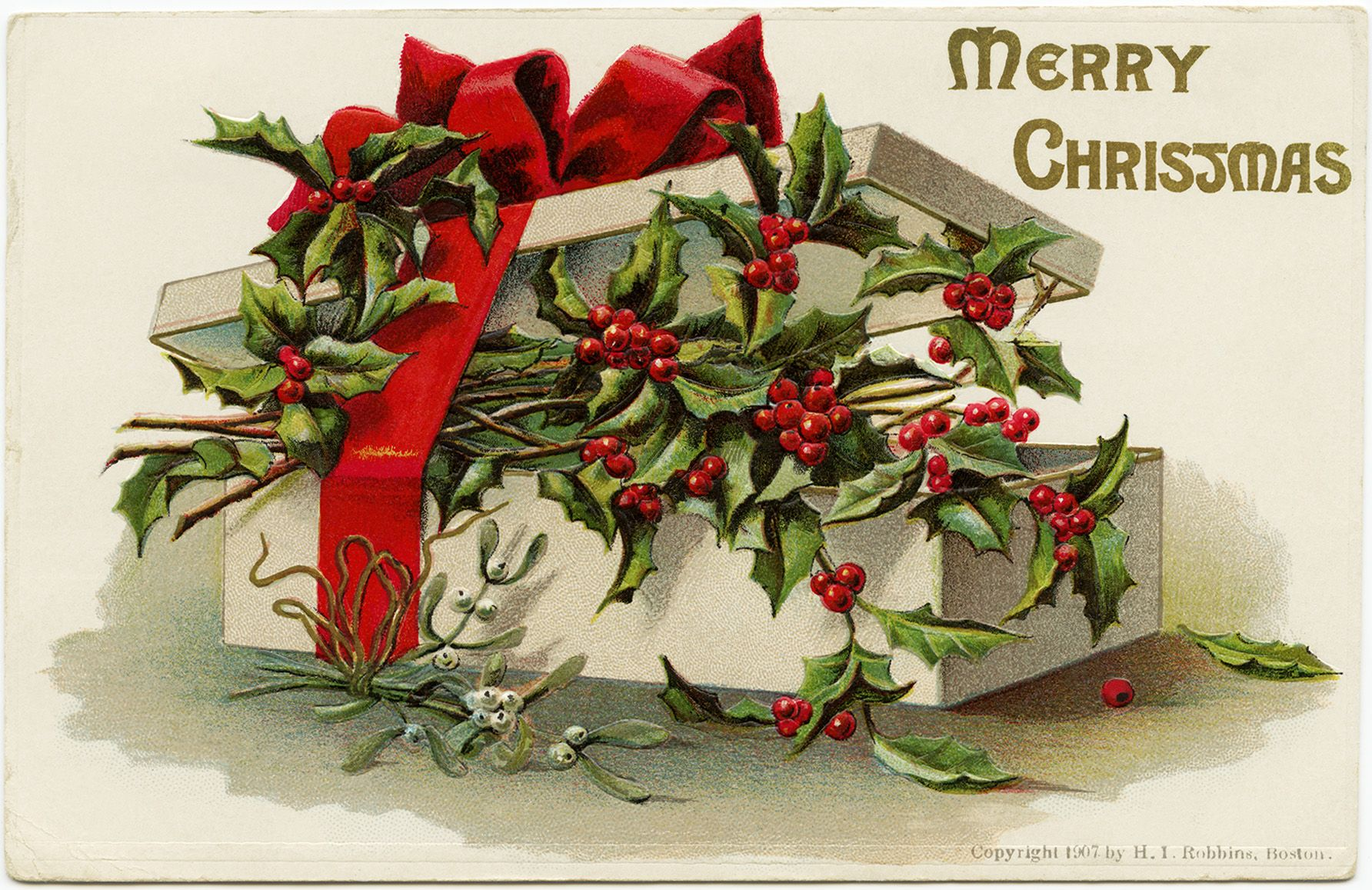 Resultado de imagem para christmas postcard vintage