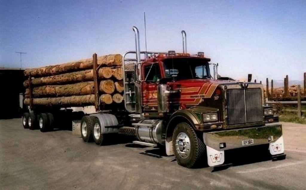 Western Star Logging Truck N Z Trucks Heavy Duty Trucks Built Truck