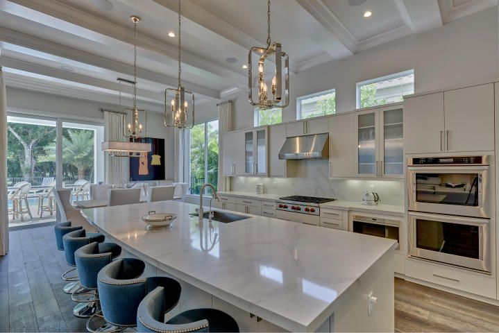 So gorgeous, this fully furnished home has everything anyone would ever need! Including double ovens!   www.oldpalm.us